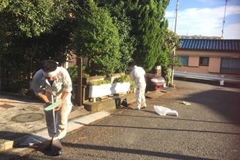 地域清掃活動の写真1