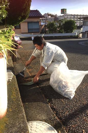 地域清掃活動の写真2